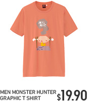 MONSTER HUNTER GRAPHIC TEE