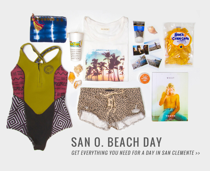 San O Beach Day - Get everything you need for a day in San Clemente