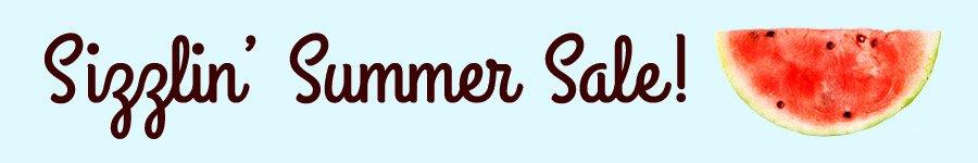 Sizzlin Summer Sale