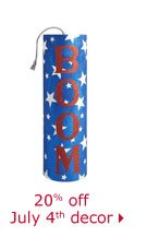 20% off July 4th decor