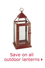 Save on all outdoor lanterns