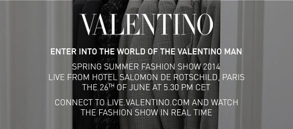 Watch the Fashion show in real time