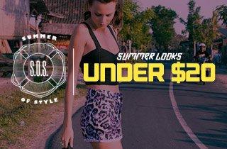 Summer Looks Under $20