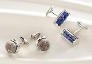 Sterling Silver: Cufflinks & Jewelry