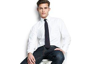 Thom Browne: Dress Shirts & Ties