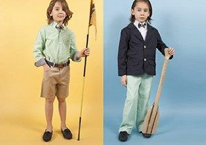 Andy & Evan for Little Gentlemen