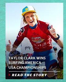Taylor Clark Wins Surfing America USA Championships