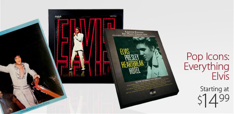 Pop Icons: Everything Elvis