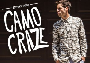 Shop Editors' Picks: Camo Craze