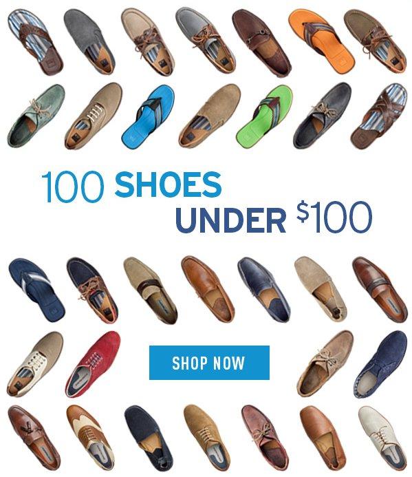 100 Shoes Under $100