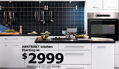 ABSTRAKT kitchen starting at $2999