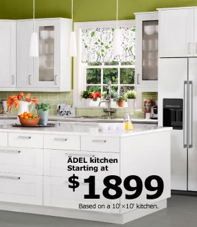 ÄDEL kitchen starting at $1899
