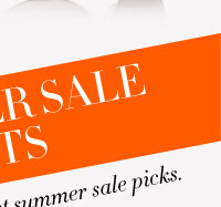40% OFF SUMMER SALE