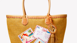 THE LAST STRAW POSTCARDS TOTE