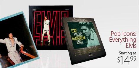 Pop Icons: Everything Elvis