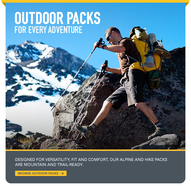 Browse Outdoor Packs