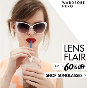 LENS FLAIRS UP TO 60% OFF