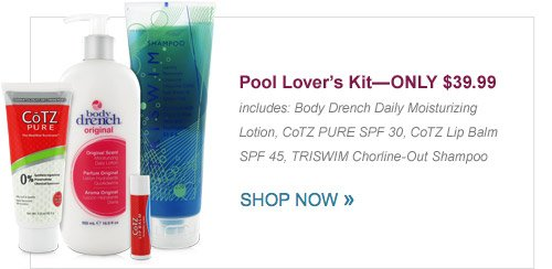 Pool Lover's Kit