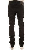 The Super Skinny Guy Jeans in Black Power Stretch