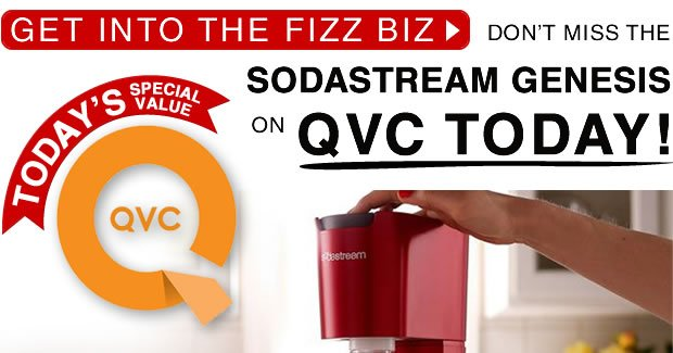 Don't Miss The SodaStream Genesis On QVC Today!
