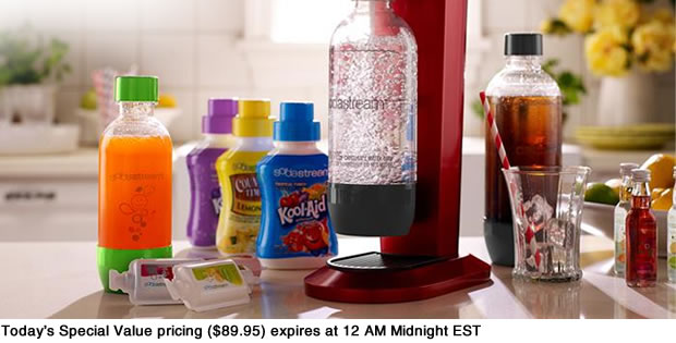 Today's Special Value pricing ($89.95) expires at 12 AM Midnight EST