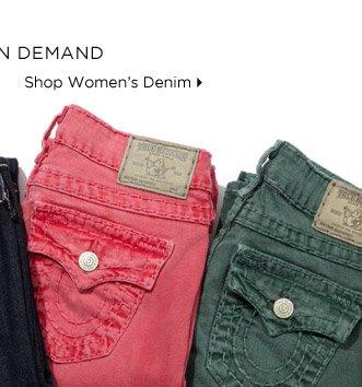 Denim In Demand - Shop Women's Denim