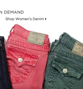 Denim In Demand - Shop Women's Denim