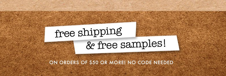 freeshipping & free samples!
