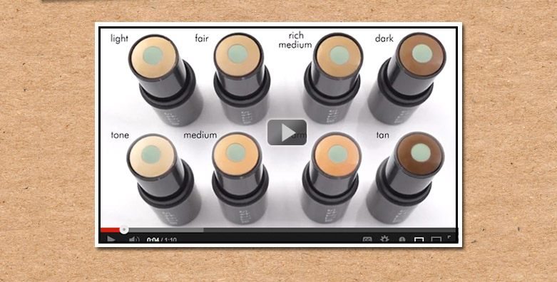 video: stila's CC color correcting stick provides flawless, natural looking skin