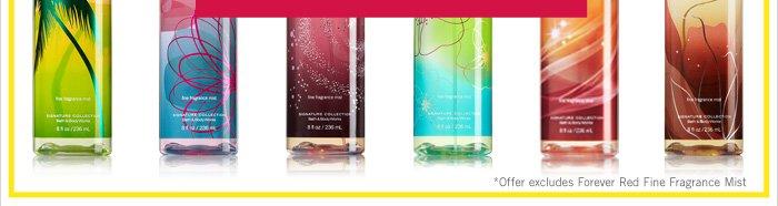 Signature Fine Fragrance Mist – $6