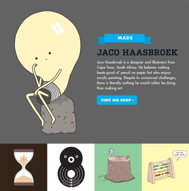MADE - Jaco Haasbrock - Visit his shop