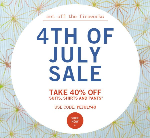 Take 40% Off Styles - Set Off the Fireworks