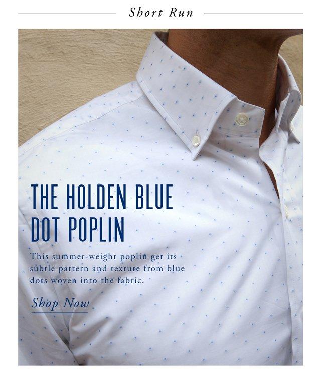 The Holden Blue Dot - Short Run style=