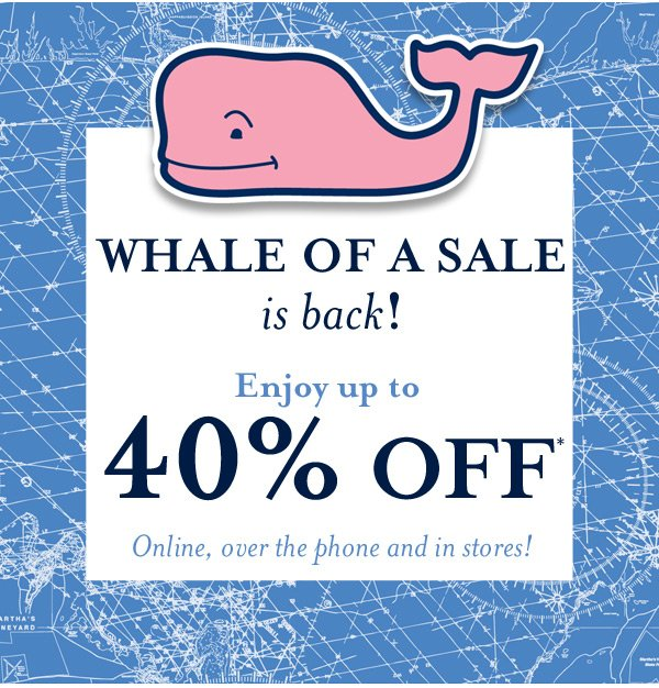Whale of a Sale