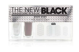 THE NEW BLACK GHOST STORY NAIL JEWELS AND POLISH SET