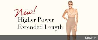 New! Higher Power Extended Length. Shop.