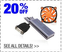 20% OFF SELECT CABLES & ACCESSORIES!*