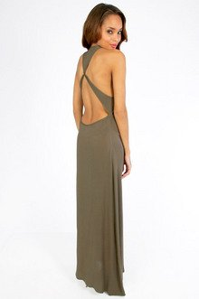 RAE CUTS BACK MAXI DRESS 35