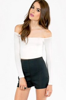 BARELY THERE OFF SHOULDER TOP 21