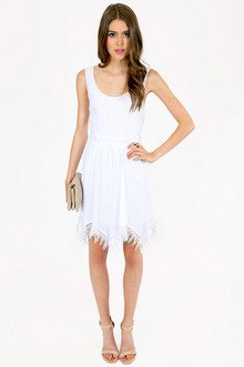 RONA LACE TRIM DRESS 43