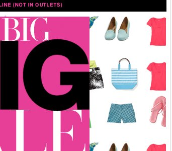 EVERYTHING UP TO 80% OFF! Shop the BIG BIG Sale NOW!