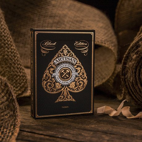 Artisan Edition Playing Cards // Black