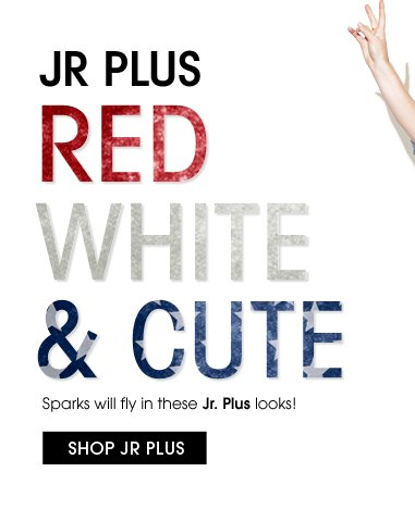 Jr Plus Red White and Cute Styles - Shop Now