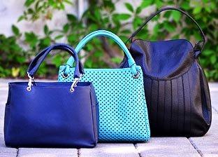 Plinio Visona Handbags, Made in Italy, New Collection