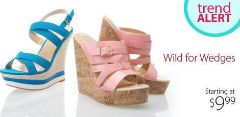 Wild for wedges