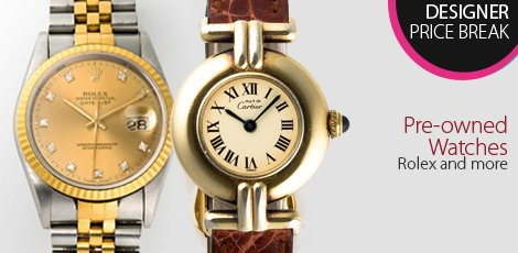 Preowned watches