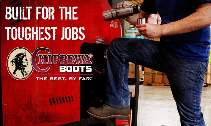 Chippewa Boots - Built For The Toughest Jobs