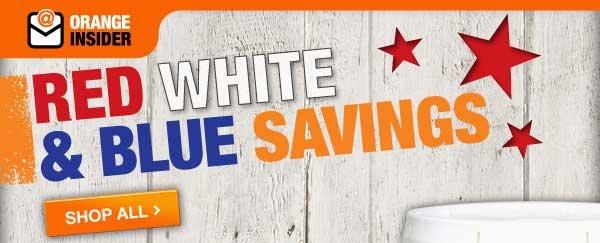 RED WHITE & BLUE SAVINGS