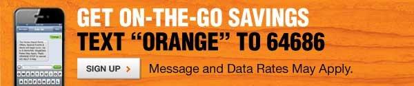 Text 'Orange' to 64686