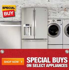 Special Buys on Select Appliances